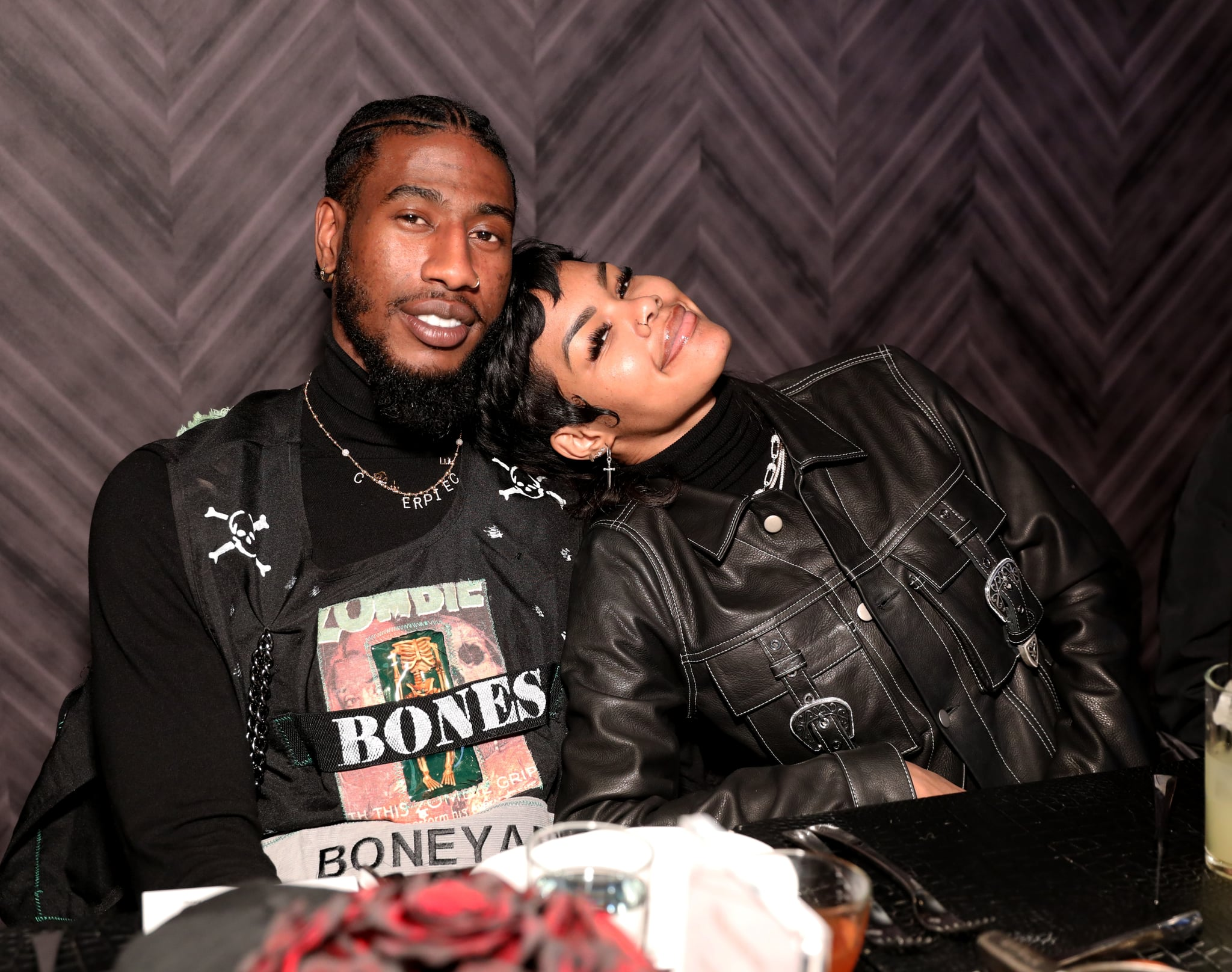 CHICAGO, ILLINOIS - FEBRUARY 14: Iman Shumpert and Teyana Taylor attend The Compound and Luxury Watchmaker Roger Dubuis Hosts NBA All-Star Dinner at STK Chicago on February 14, 2020 in Chicago, Illinois. (Photo by Robin Marchant/Getty Images for Roger Dubuis)