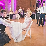 The Force Was Strong With This Scottish Couple at Their Colourful Star Wars Wedding