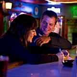 Rosemarie DeWitt and Matt Damon in Promised Land.