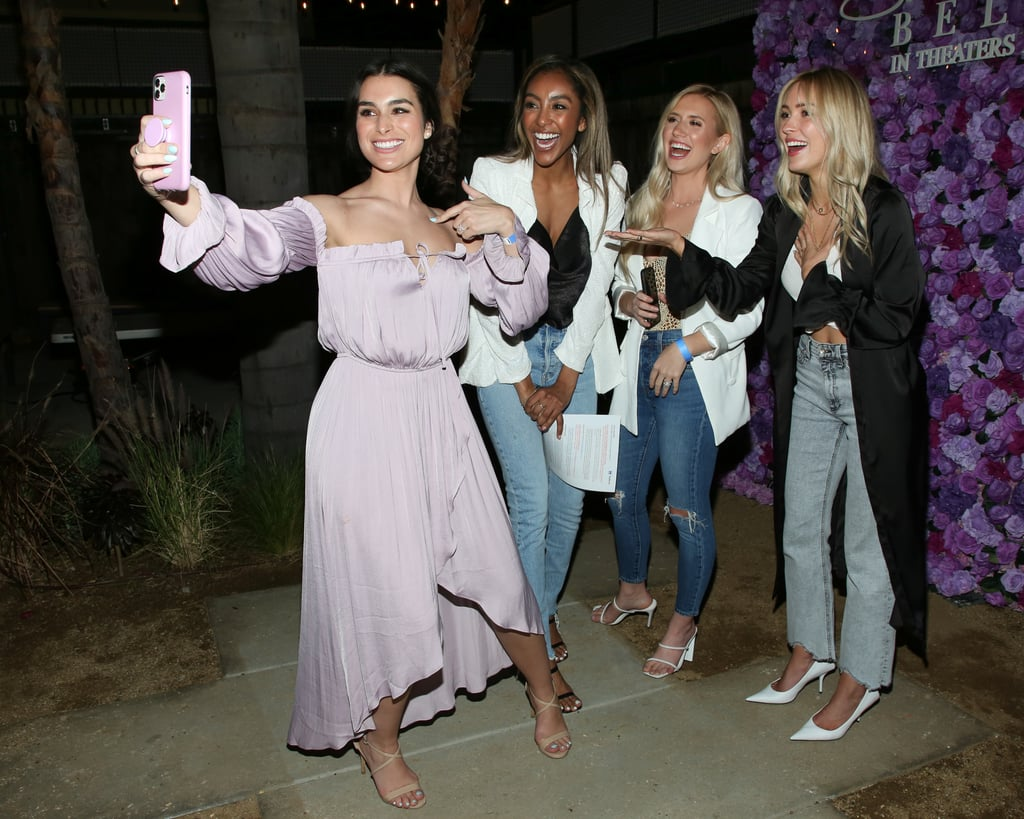 Ashley Iaconetti, Tayshia Adams, Lauren Luyendyk, and Cassie Randolph at I Still Believe Screening