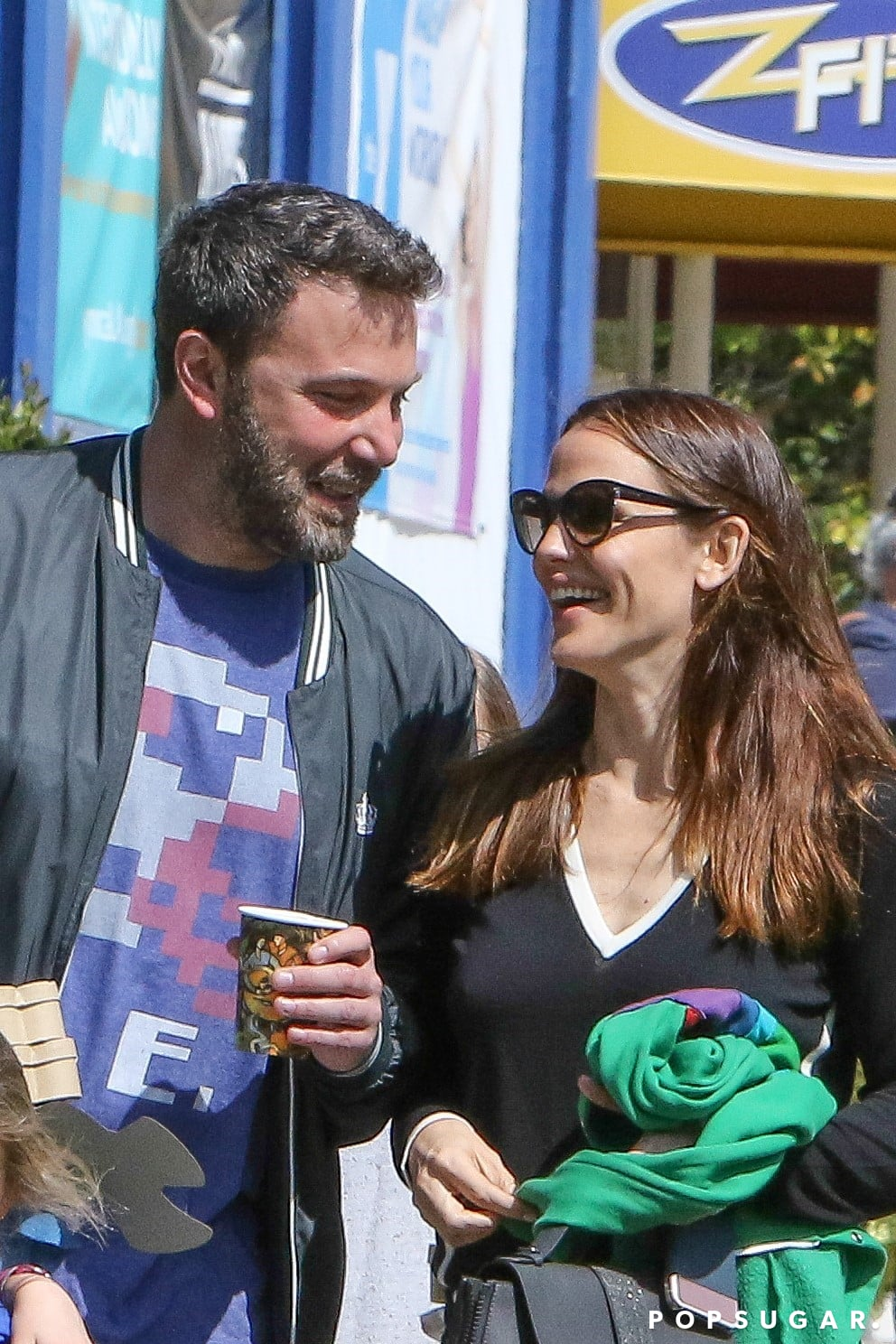 Ben Affleck and Jennifer Garner at Church in LA March 2017 ...