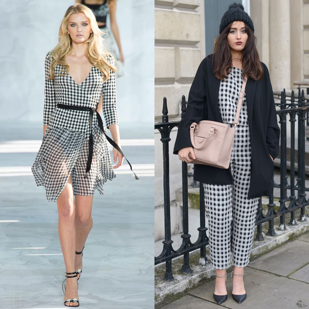 Gingham Style: How to Wear Spring's Biggest Runway Trend Now