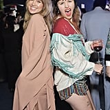 Suki Waterhouse and Dani Miller at the 2019 LACMA Art + Film Gala