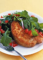 Today's Special: Pork Chops with Tomato and Arugula