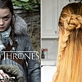 Try these tutorials if you've got Arya Stark hair envy.