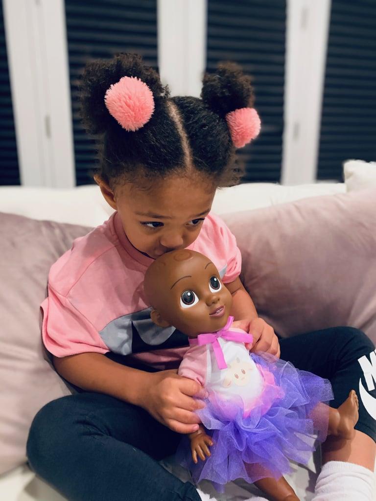 Olympia Ohanian With Her Qai Qai Doll