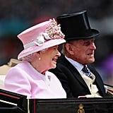 Queen Elizabeth II and Prince Philip, 2016
