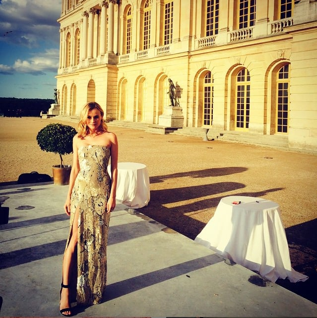 Calling All Fashion Girls: Diane Kruger's Instagram Feed Is on Fleek