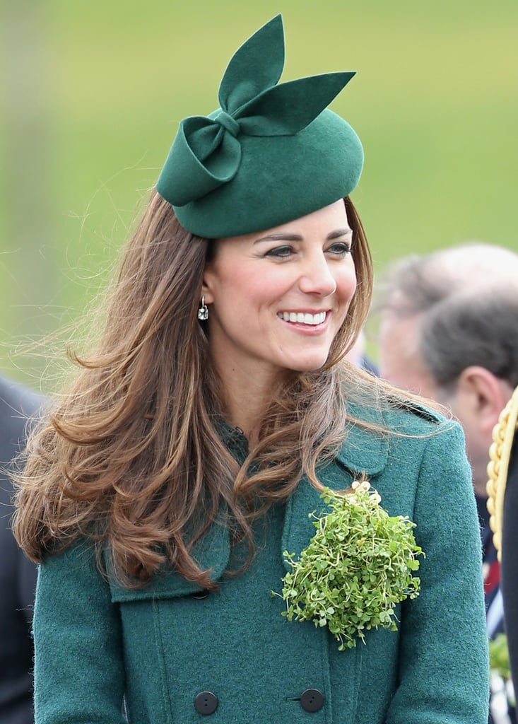 The Duchess of Cambridge's Hair on St. Patrick's Day