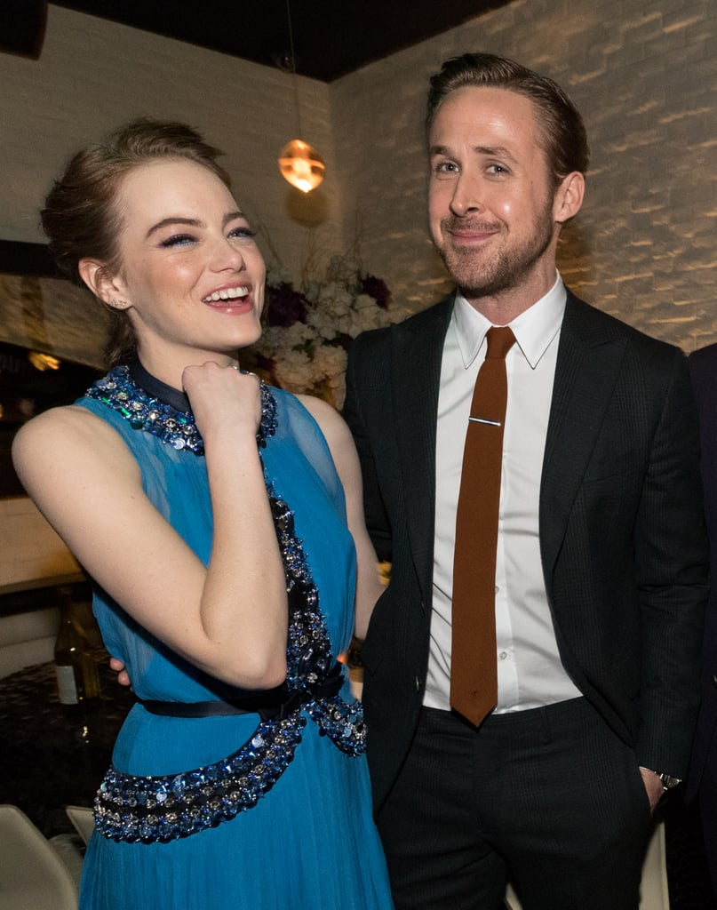 Ryan Gosling and Emma Stone Pictures | POPSUGAR Celebrity ... Emma Stone And Ryan Gosling