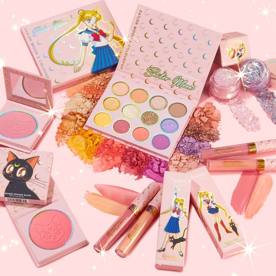 Shop ColourPop's Glittery Sailor Moon Makeup Collection