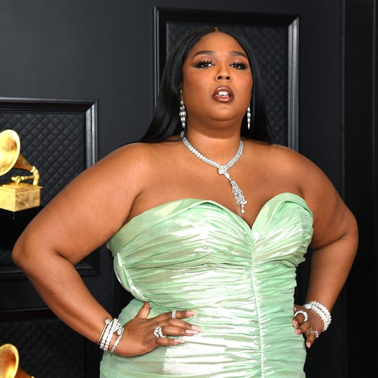 Lizzo Showed Off Her French Manicure With Gold Tips