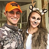 Hunter and Deer