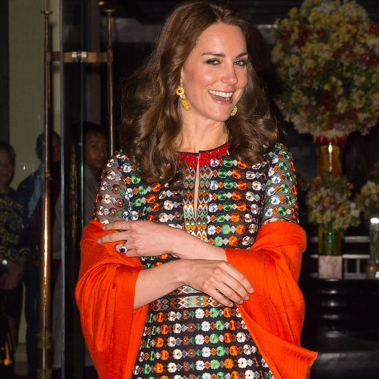 Duchess of Cambridge Tory Burch Dress in Bhutan April 2016