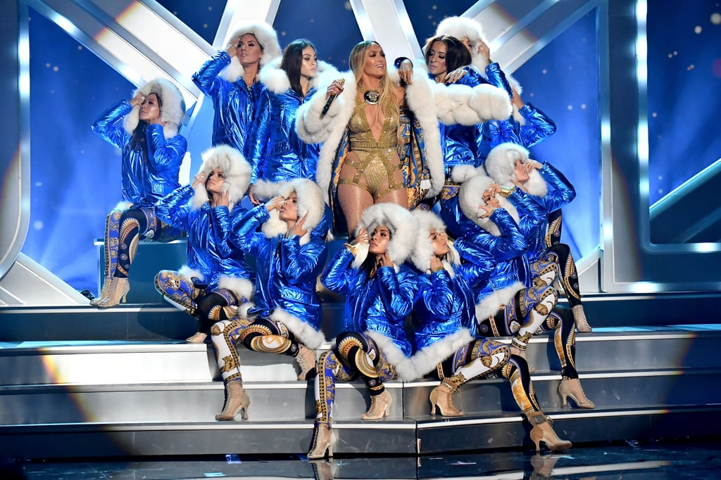 Jennifer Lopez's MTV VMAs Vanguard Performance Photos 2018