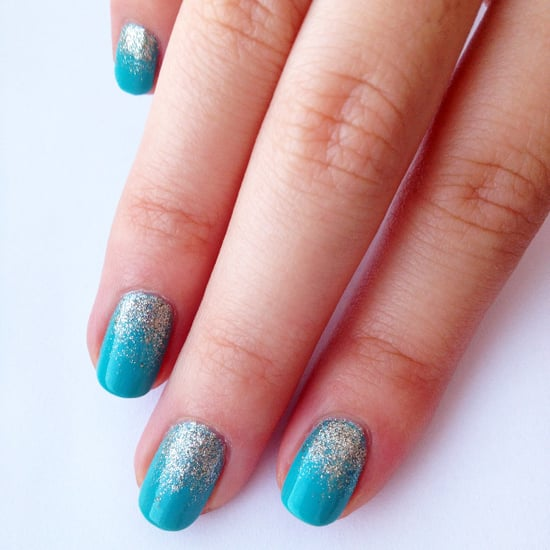 How To Do Glitter Ombre Nail Art Popsugar Beauty