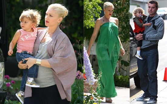 Gwen, Gavin, and Kingston Pictures in LA