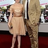 Onscreen couple Anna Kendrick and Chace Crawford posed for photos together at the What to Expect When You're Expecting UK premiere.