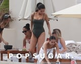 Selena Gomez's Gray One-Piece Gets Pretty Cheeky From the Side