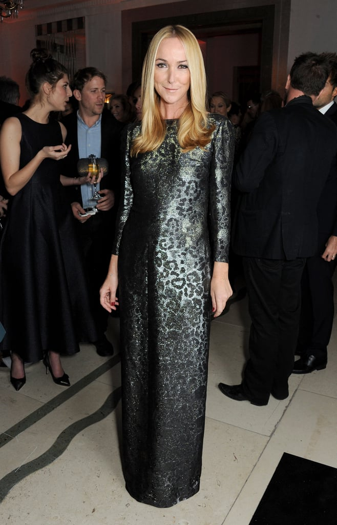 Frida Giannini sparkled in sequins at the Women of the Year Awards.