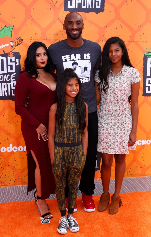 Kobe Bryant and Family at Kids' Choice Sports Awards 2016 ...