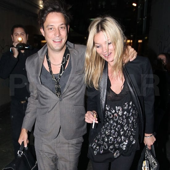 Kate Moss and Jamie Hince Pictures in Sydney