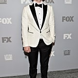 American Horror Story actor Evan Peters arrived at FX's Emmys afterparty.