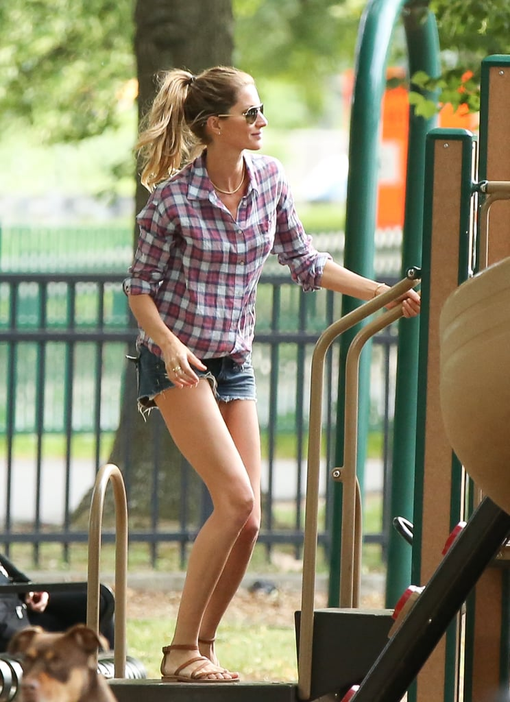 Gisele Bündchen Might Be the Hottest Mom in Boston