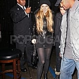 Lindsay Lohan and Samantha at Foxtail
