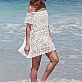 FOREVER 21+ Crochet Embroidered Cover-Up