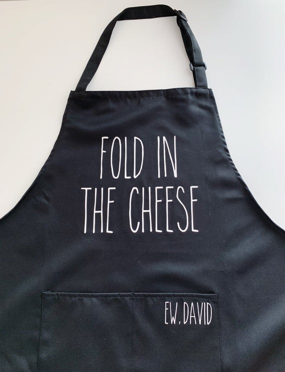 """""""Fold in the Cheese"""" Apron"""