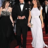 Prince William and Kate Middleton at BAFTA Brits to Watch event in LA.