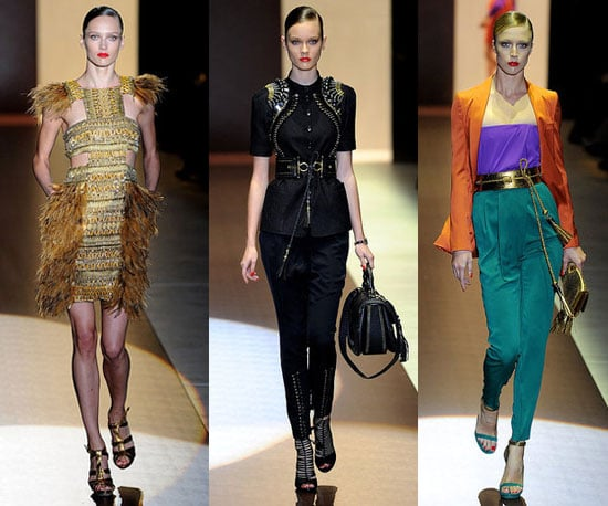 Gucci Pictures and Review at 2011 Spring Milan Fashion Week