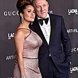 Salma Hayek and François-Henri Pinault at the 2019 LACMA Art+Film Gala
