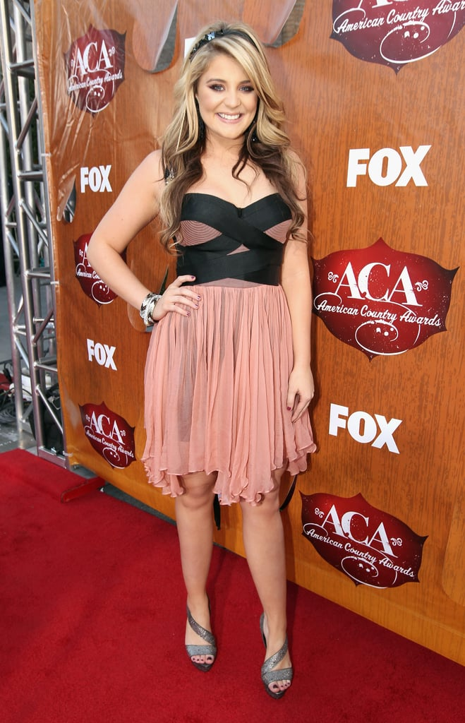 Lauren Alaina at the American Country Awards.
