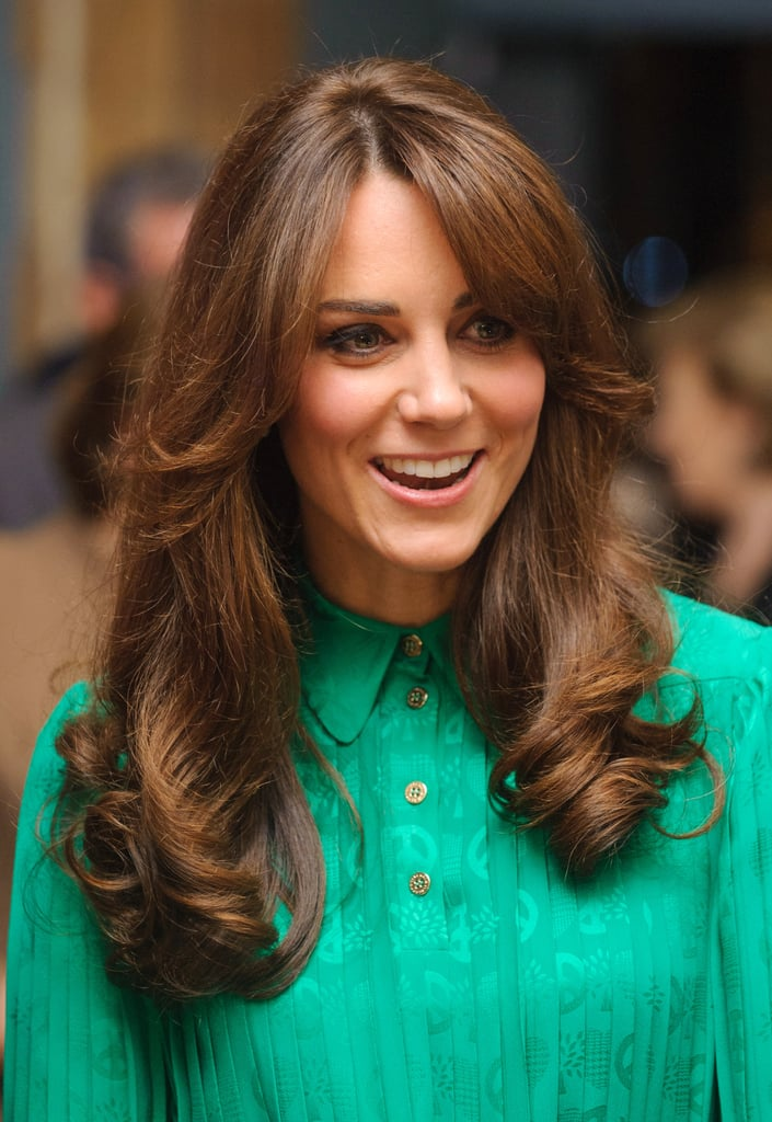 """The decision to cut a fringe is a very big one. And Kate Middleton, who is known around the world for having gorgeous hair, has taken the plunge on numerous occasions.  Just last year, Kate made headlines by cutting dramatic bangs with the help of her preferred stylist, Richard Ward. The style Richard cut for Kate was dubbed """"the gringe"""" — that is, a grown-out fringe. Going even further back, it's clear Kate's sported the style on and off for the past decade. She's worn her fringe long and short, straight-down and pushed to the side. Kate's a trendsetter in many realms, and one look at these 33 hairstyles proves that fringe is also her domain."""