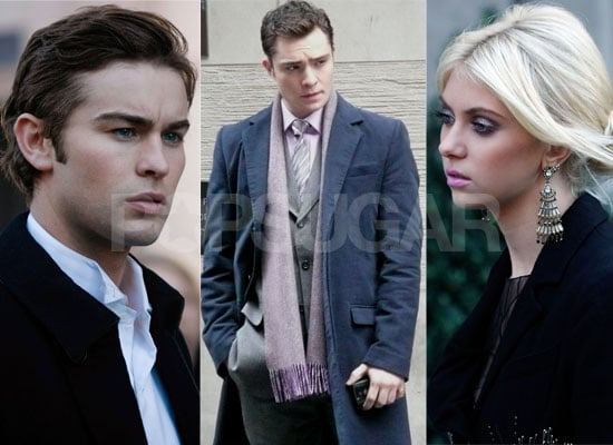 Exclusive Photos of Ed Westwick from Gossip Girl Set, Plus Photos of Taylor Momsen and Chace Crawford