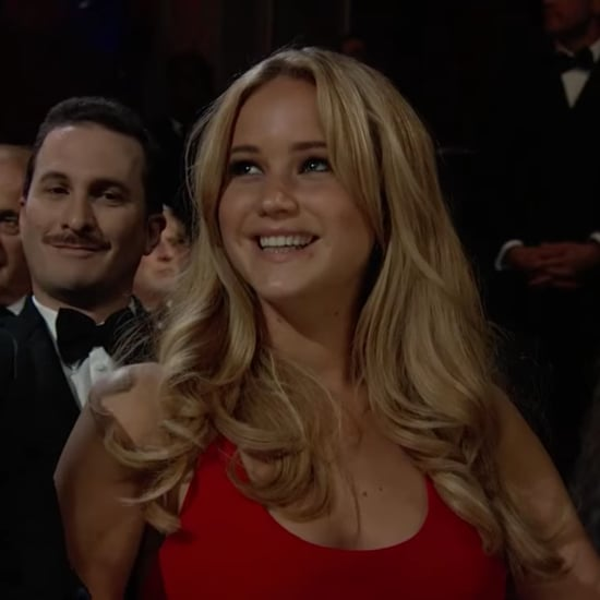 Darren Aronofsky and Jennifer Lawrence at the 2011 Oscars