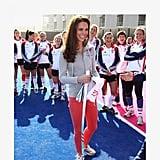 Royals Wearing Sneakers
