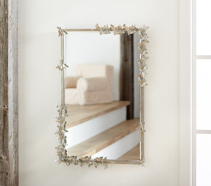 Pottery Barn Kids Monique Lhuillier Butterfly Rectangle Mirror