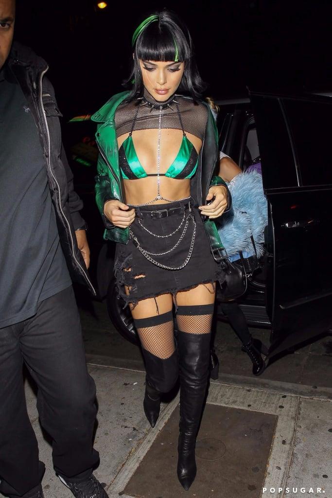 Kendall Jenner's Powerpuff Girl Halloween Costume