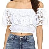Miguelina Dakota Beach Blouse ($290)