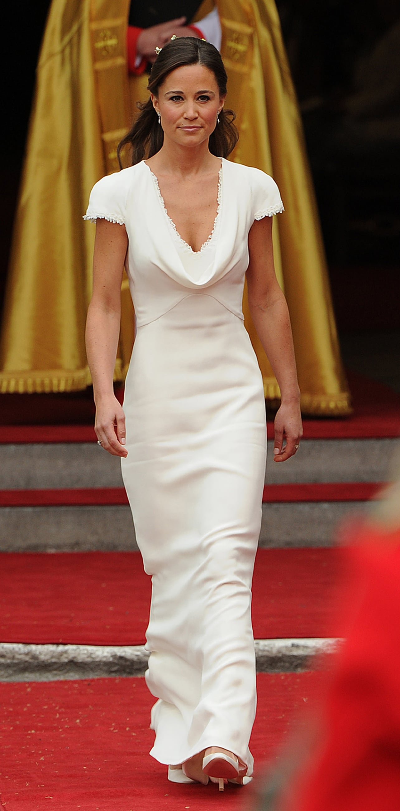 As maid of honor at sister Kate Middleton's wedding, Pippa made quite an impression on the world in her Alexander McQueen dress.