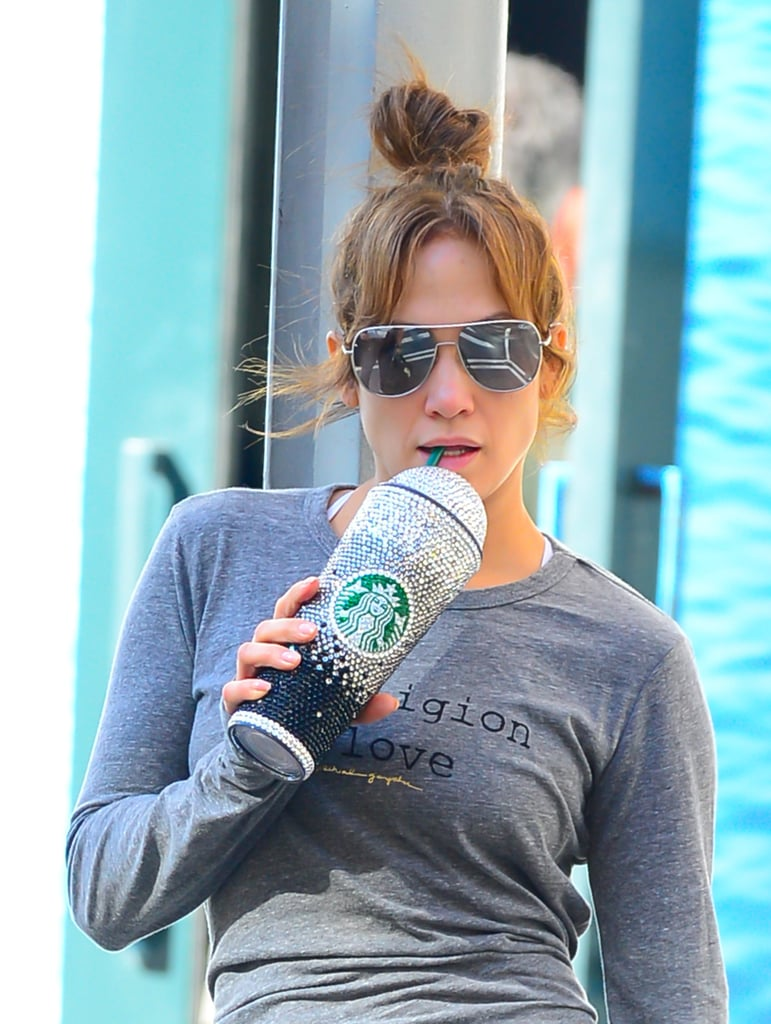 You Can Buy Jennifer Lopez's Bedazzled Starbucks Cup on Etsy