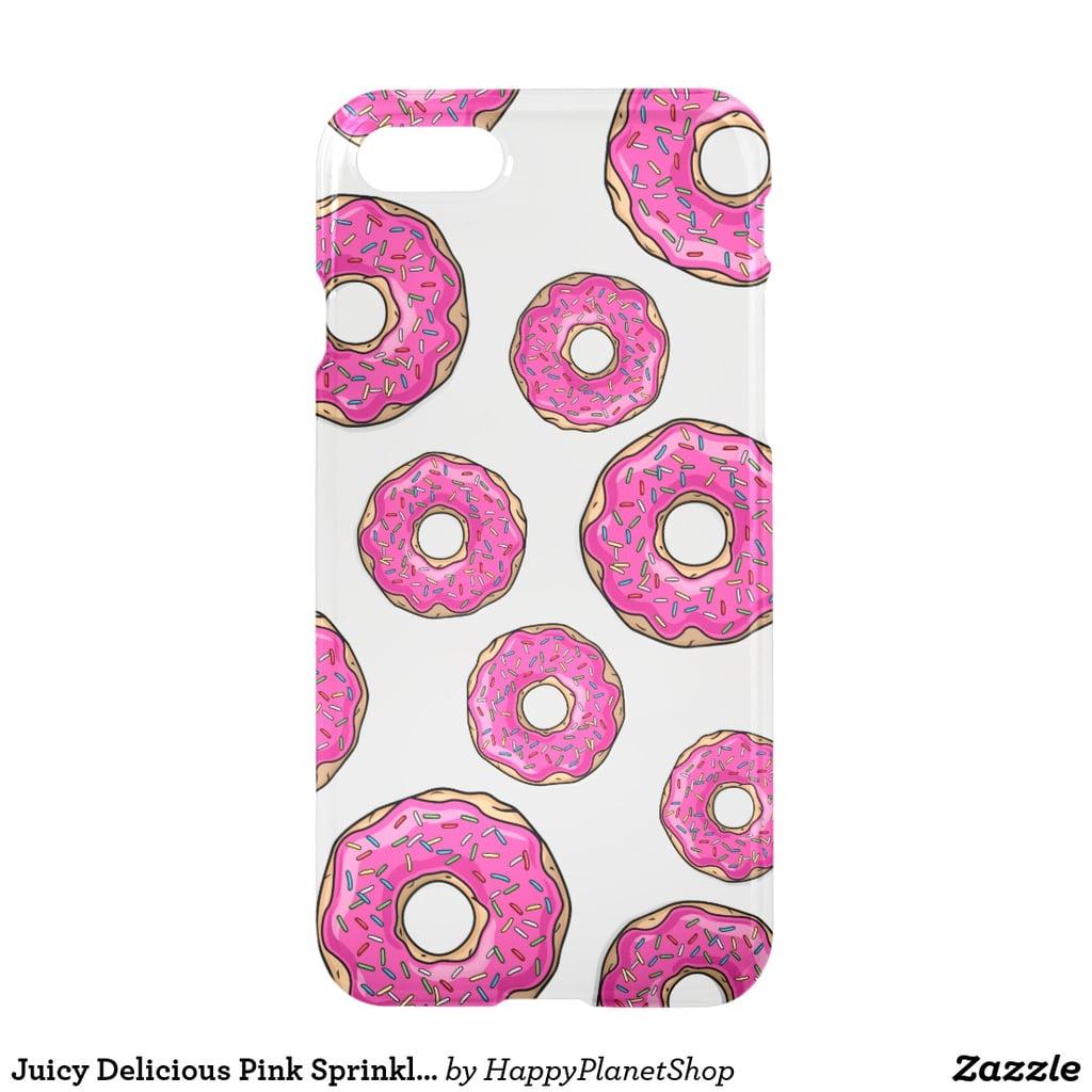 Donut Liquid Glitter iPhone Case
