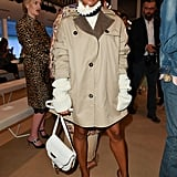 Kat Graham at the Tod's Milan Fashion Week Show