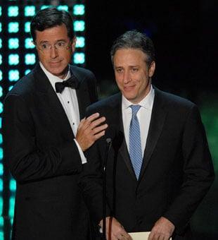 Sugar Bits — Stewart and Colbert to Return in January