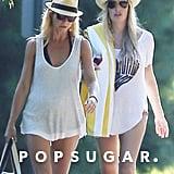 Gwyneth Paltrow Escapes Romance Rumors at the Beach