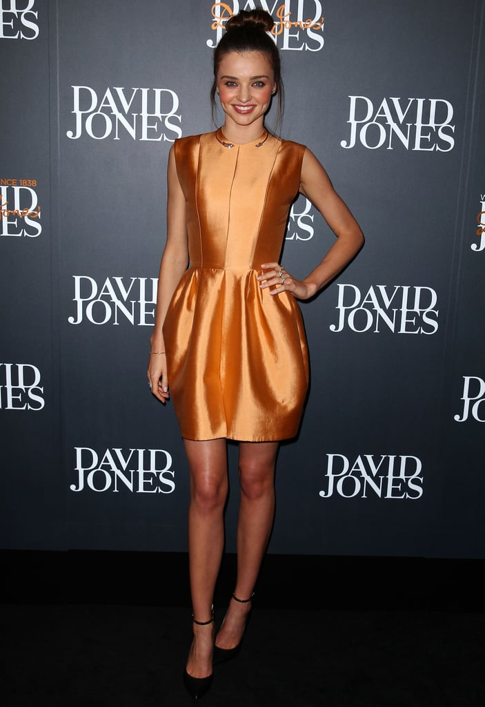 Miranda Kerr S Best Red Carpet Dresses Pictures