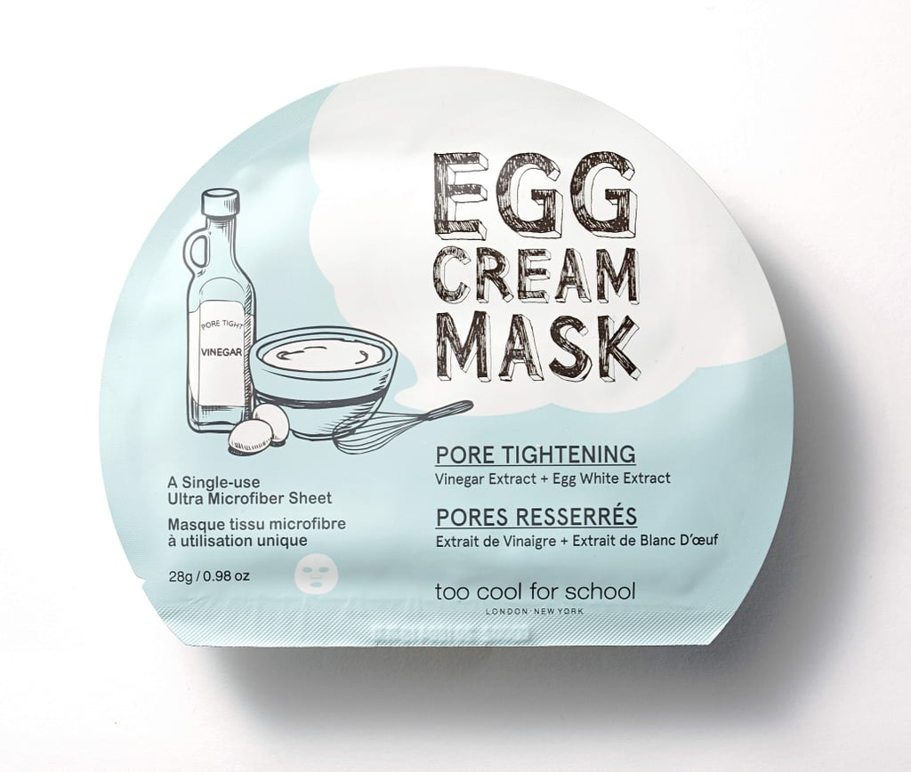 Too Cool For School Pore Tightening Egg Cream Mask